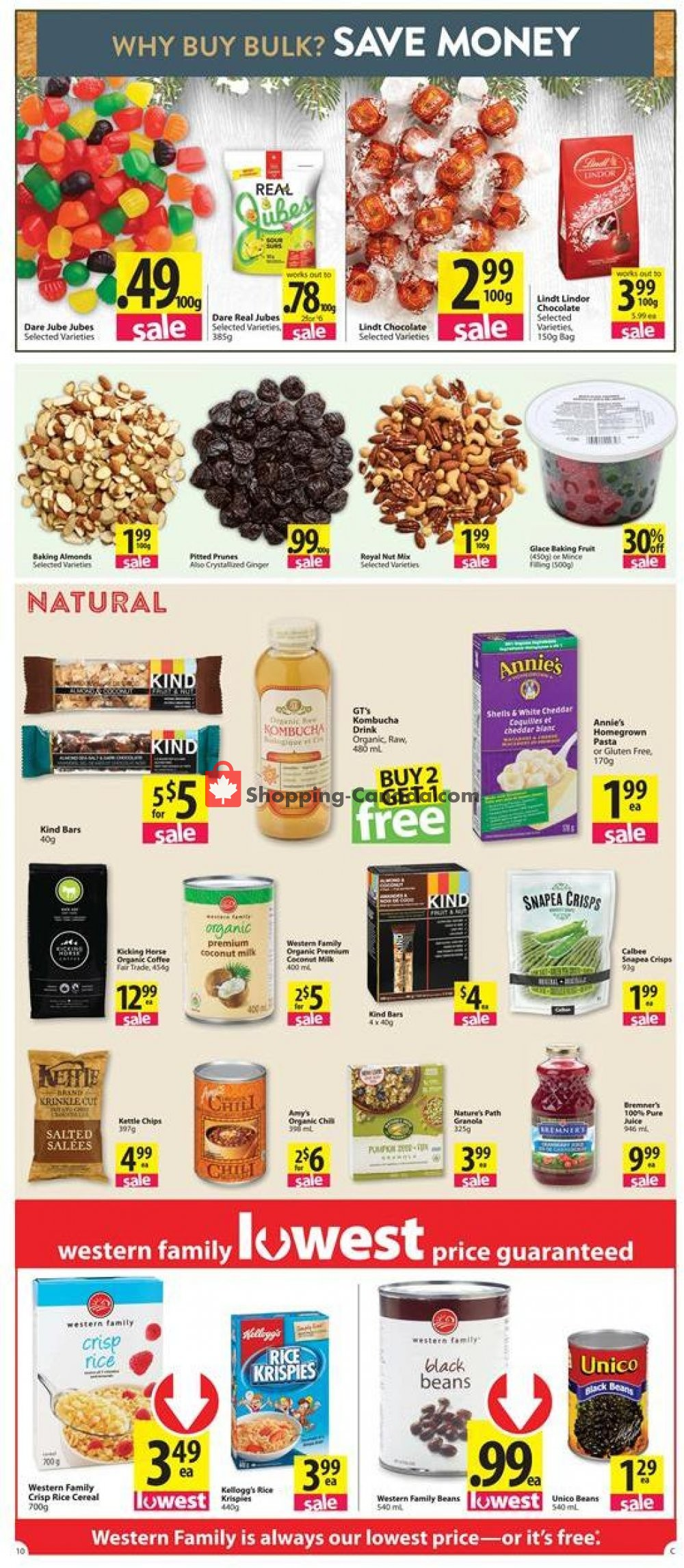 Flyer Save-On-Foods Canada - from Thursday November 7, 2019 to Wednesday November 13, 2019
