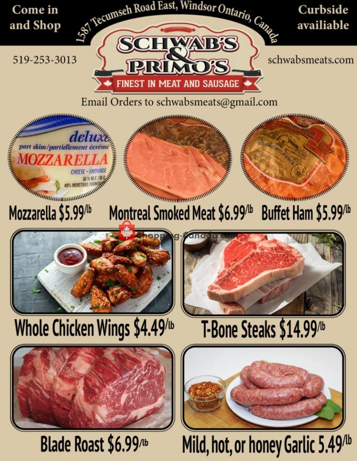 Flyer Schwab's & Primo's Canada - from Tuesday October 12, 2021 to Saturday October 16, 2021