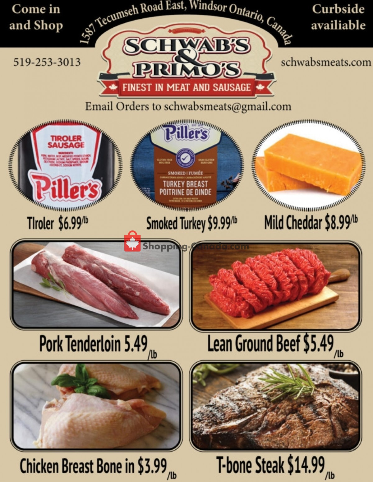 Flyer Schwab's & Primo's Canada - from Tuesday June 8, 2021 to Saturday June 12, 2021