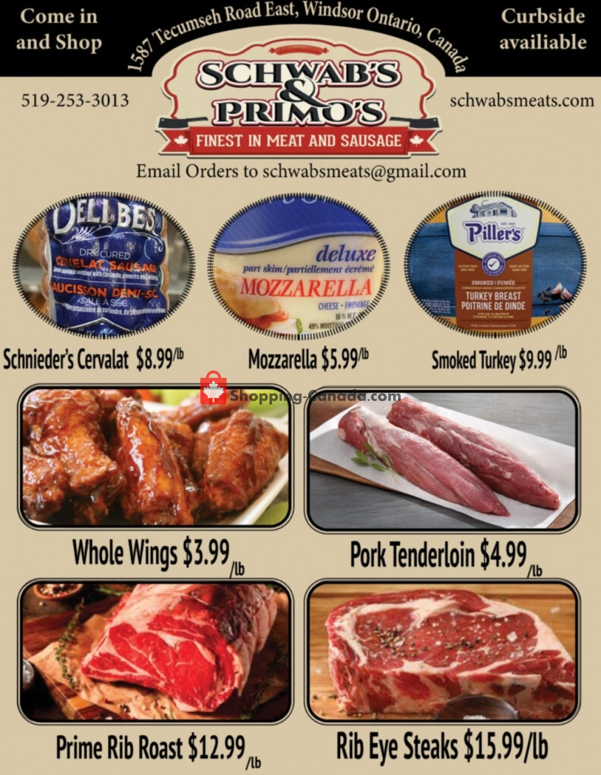 Flyer Schwab's & Primo's Canada - from Tuesday July 20, 2021 to Monday July 26, 2021