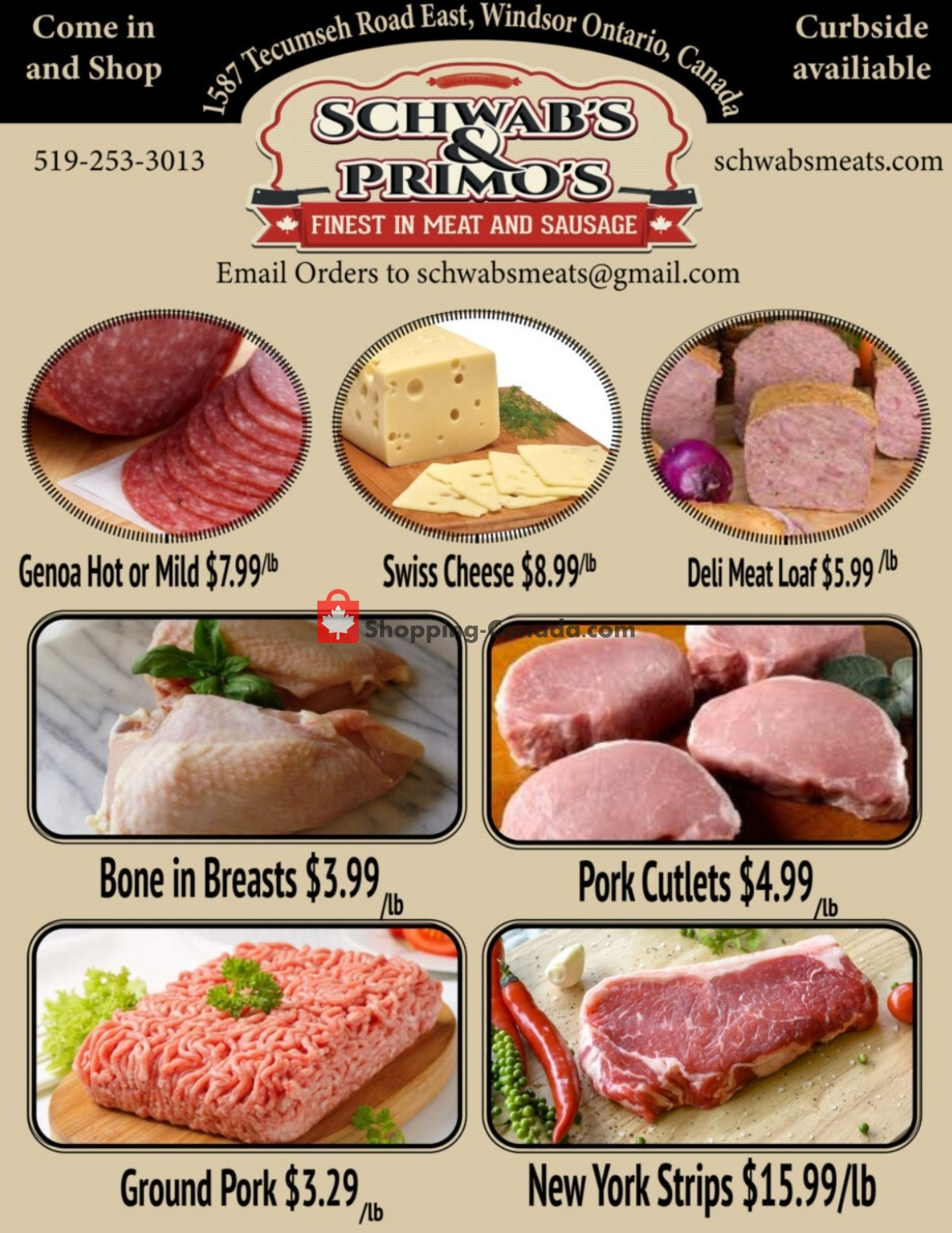 Flyer Schwab's & Primo's Canada - from Tuesday July 13, 2021 to Saturday July 17, 2021