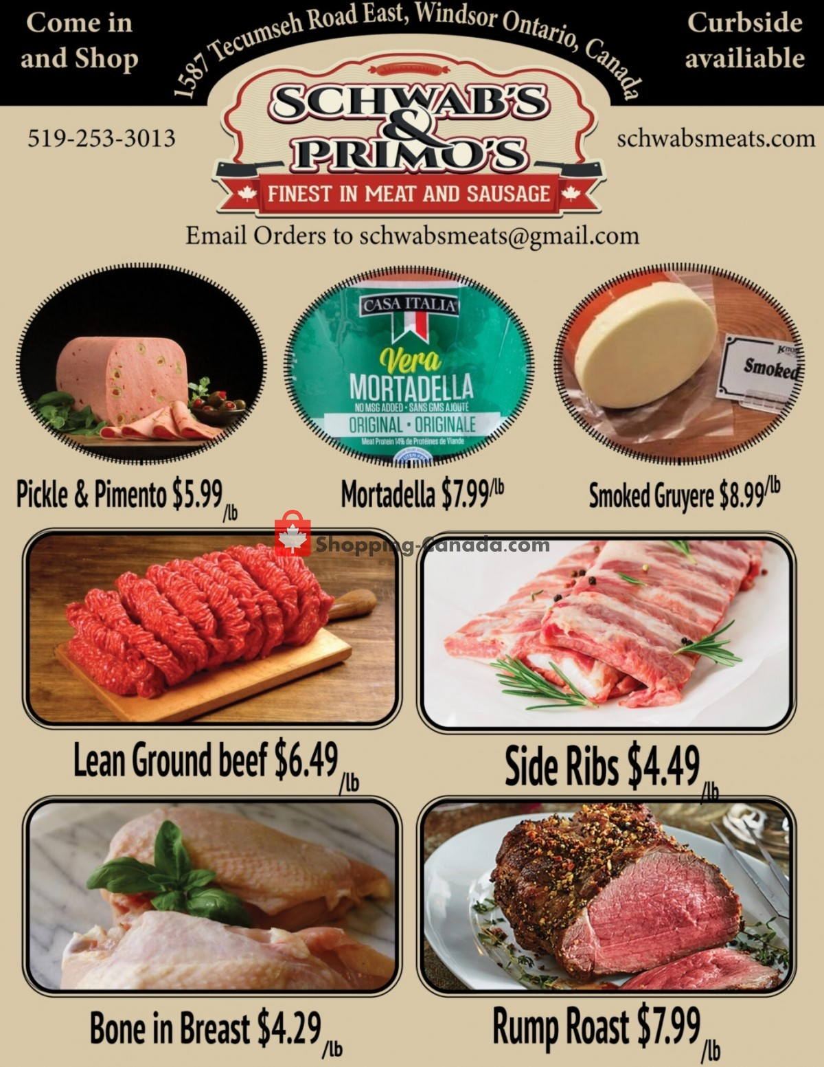 Flyer Schwab's & Primo's Canada - from Tuesday September 14, 2021 to Monday September 20, 2021