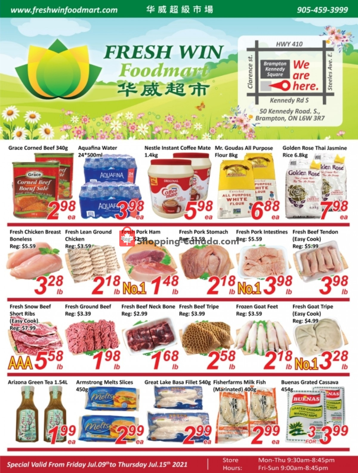 Flyer Seasons Food Mart Canada - from Friday July 9, 2021 to Thursday July 15, 2021