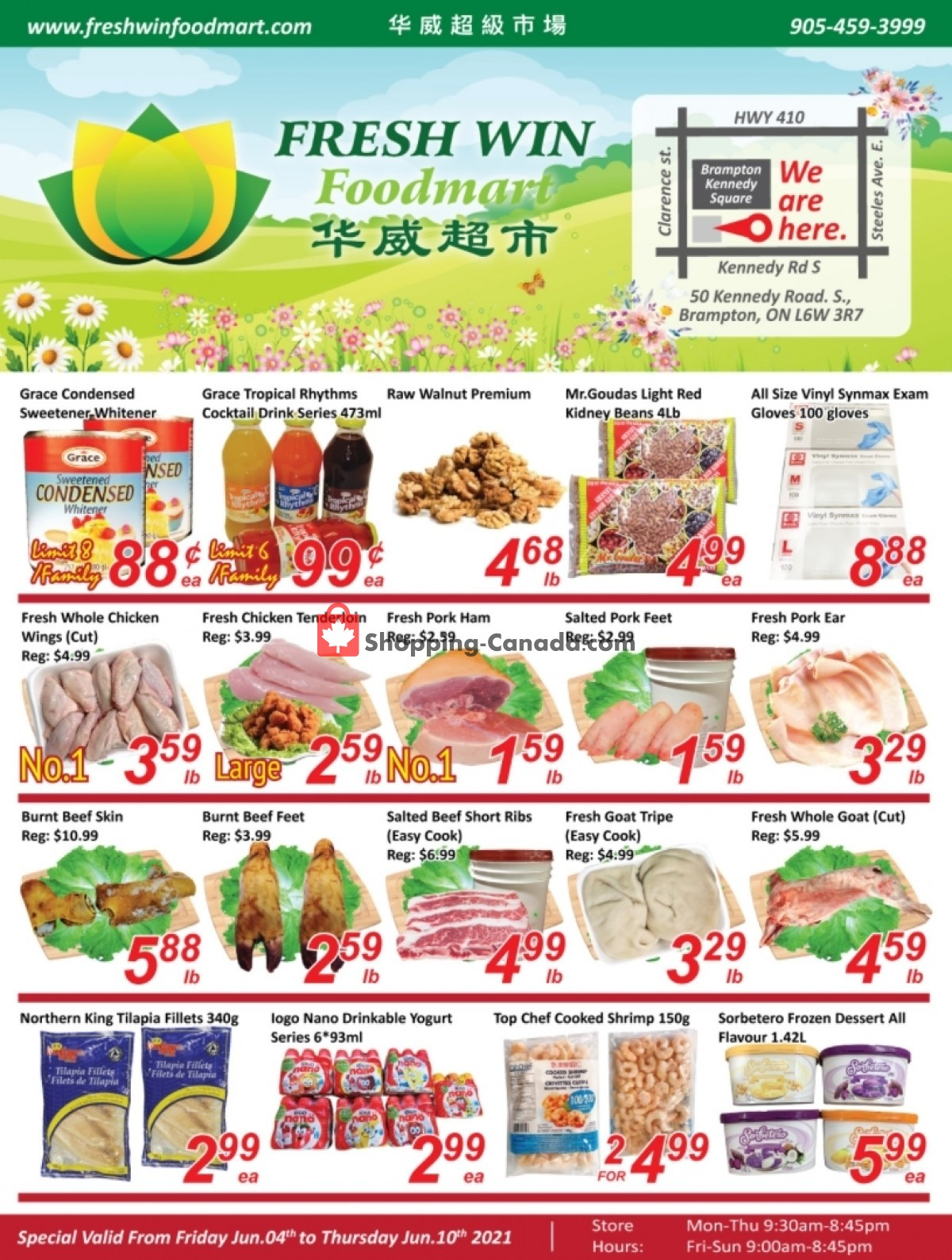 Flyer Seasons Food Mart Canada - from Friday June 4, 2021 to Thursday June 10, 2021
