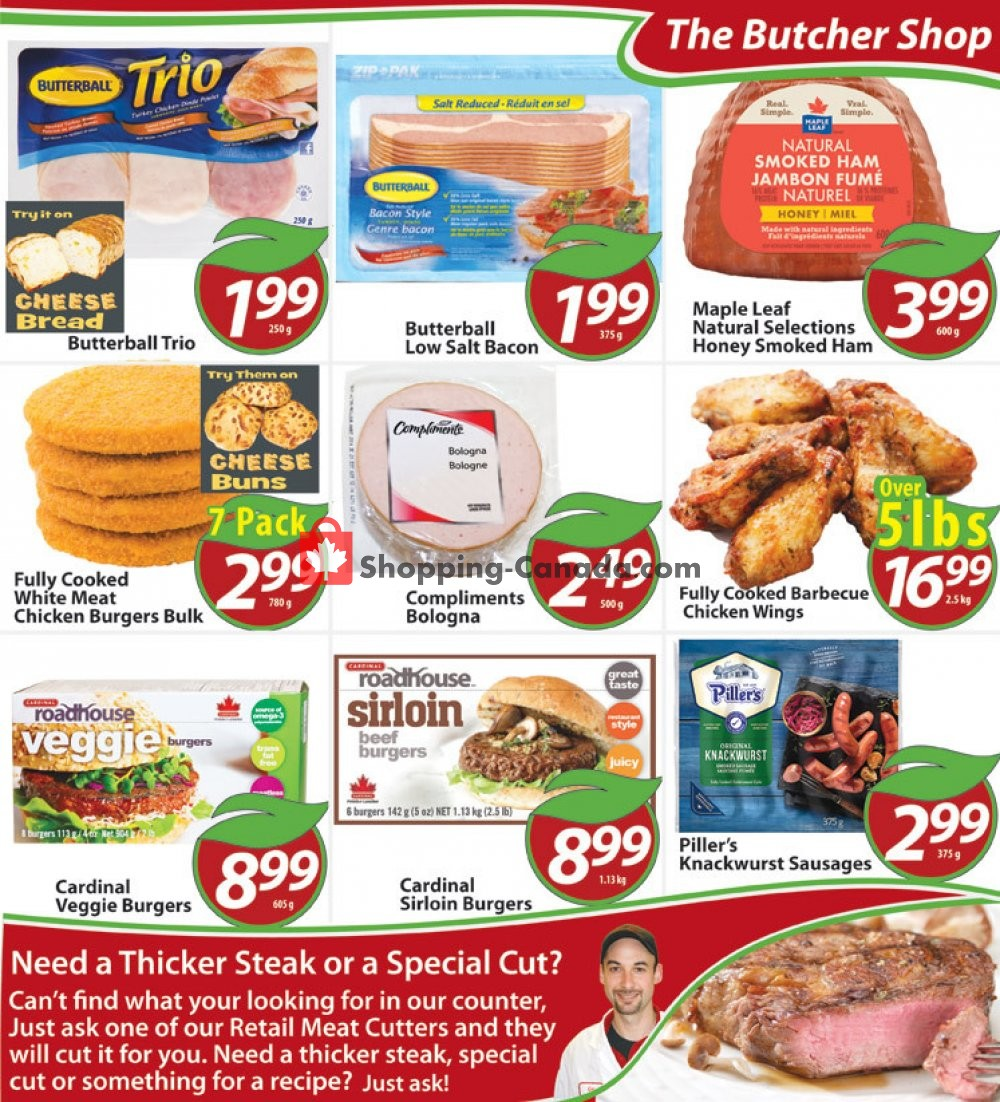 Flyer Sharpe's Food Market Canada - from Thursday January 9, 2020 to Wednesday January 15, 2020