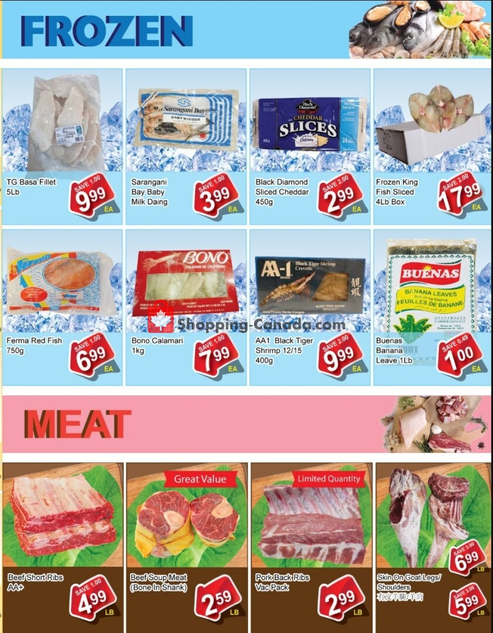 Flyer Shengthai Fresh Foods Canada - from Friday July 24, 2020 to Thursday August 6, 2020