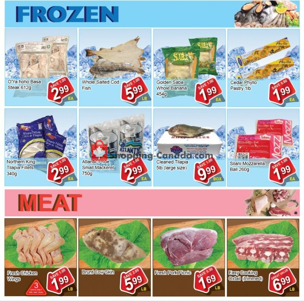 Flyer Shengthai Fresh Foods Canada - from Friday January 10, 2020 to Thursday January 23, 2020
