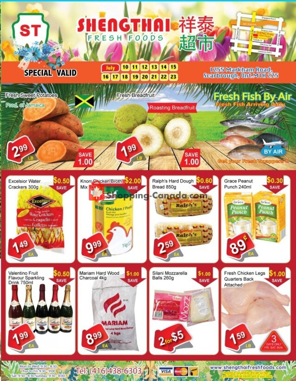Flyer Shengthai Fresh Foods Canada - from Friday July 10, 2020 to Thursday July 23, 2020