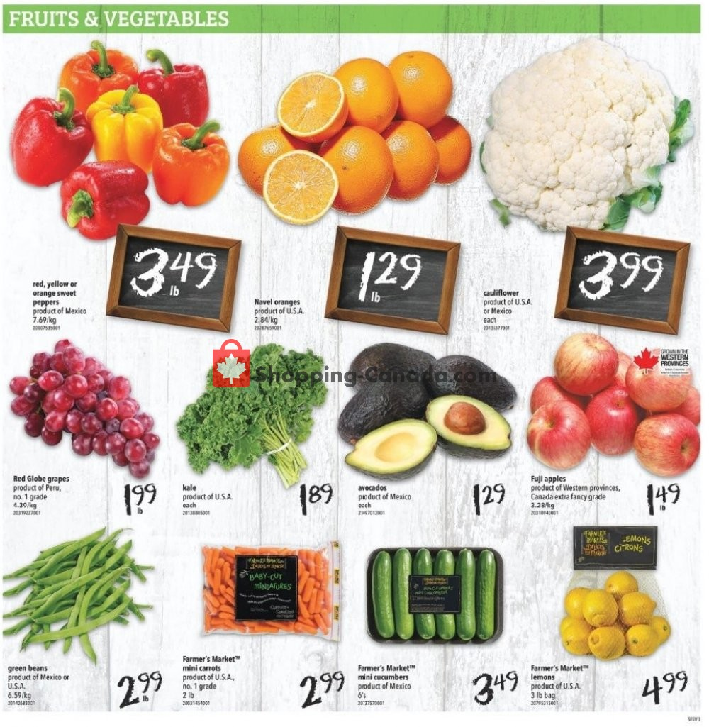 Flyer Shop Easy Foods & SuperValu Canada - from Friday January 10, 2020 to Thursday January 16, 2020
