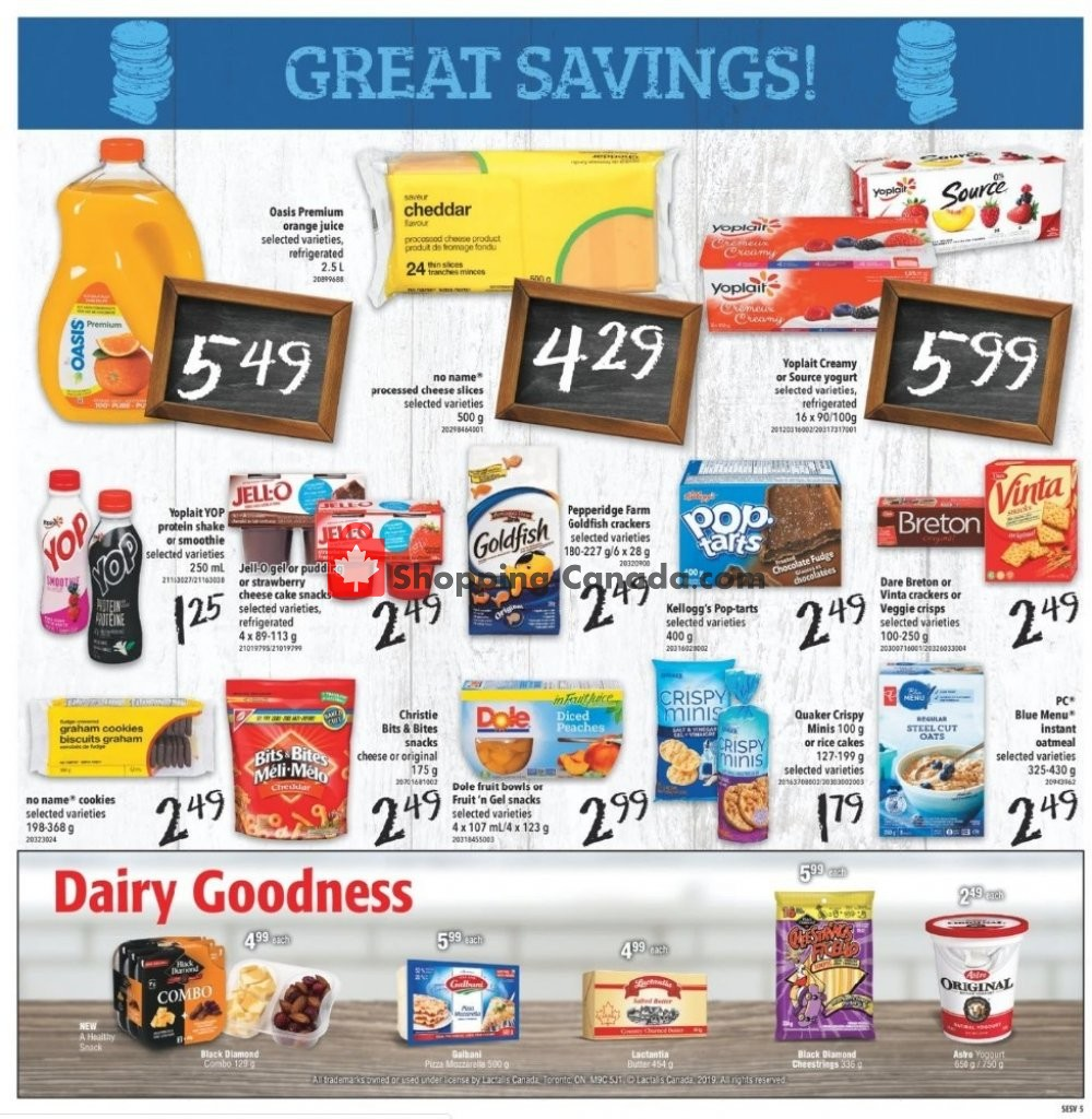 Flyer Shop Easy Foods & SuperValu Canada - from Friday November 8, 2019 to Thursday November 14, 2019