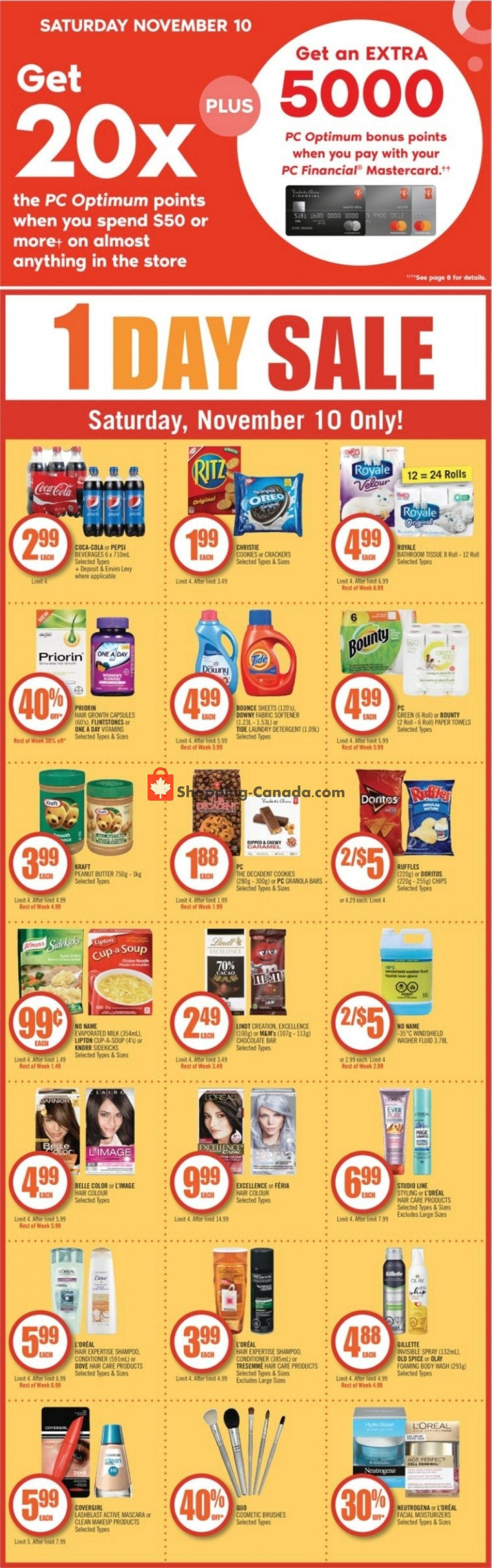 Flyer and weekly ads: Shoppers Drug Mart Canada - (BC