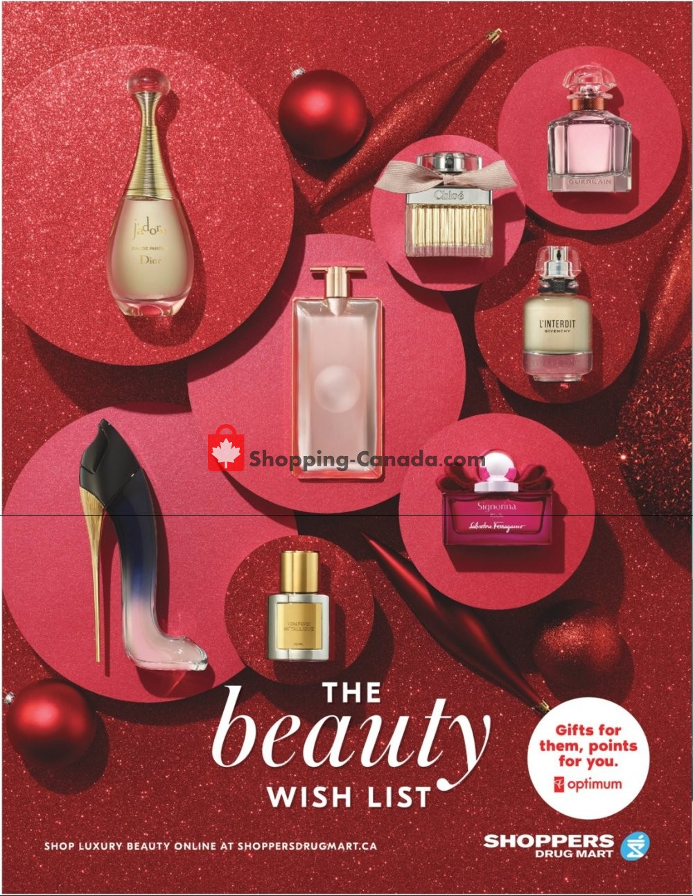 Flyer Shoppers Drug Mart Canada - from Saturday December 7, 2019 to Wednesday December 25, 2019