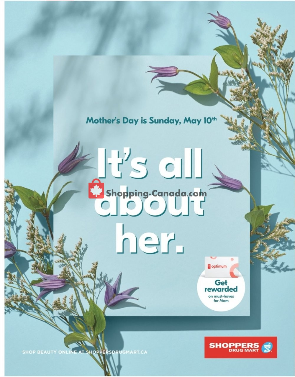 Flyer Shoppers Drug Mart Canada - from Saturday April 25, 2020 to Sunday May 10, 2020