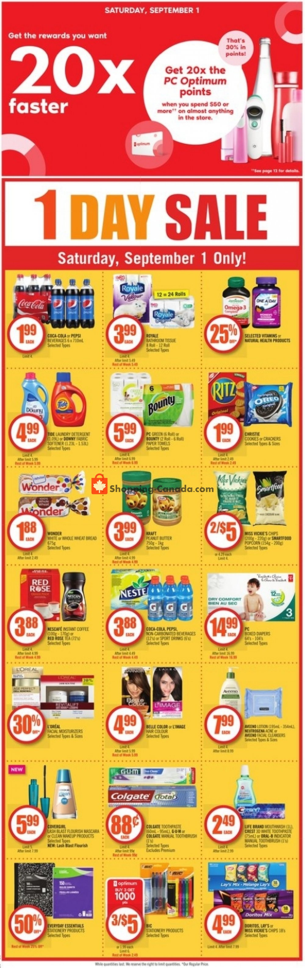 Flyer And Weekly Ads Shoppers Drug Mart Canada On From Saturday