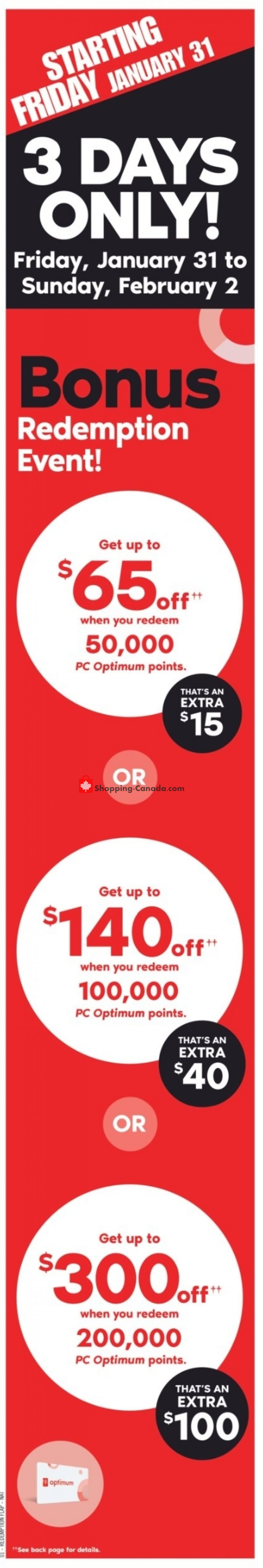 Flyer Shoppers Drug Mart Canada - from Saturday February 1, 2020 to Friday February 7, 2020