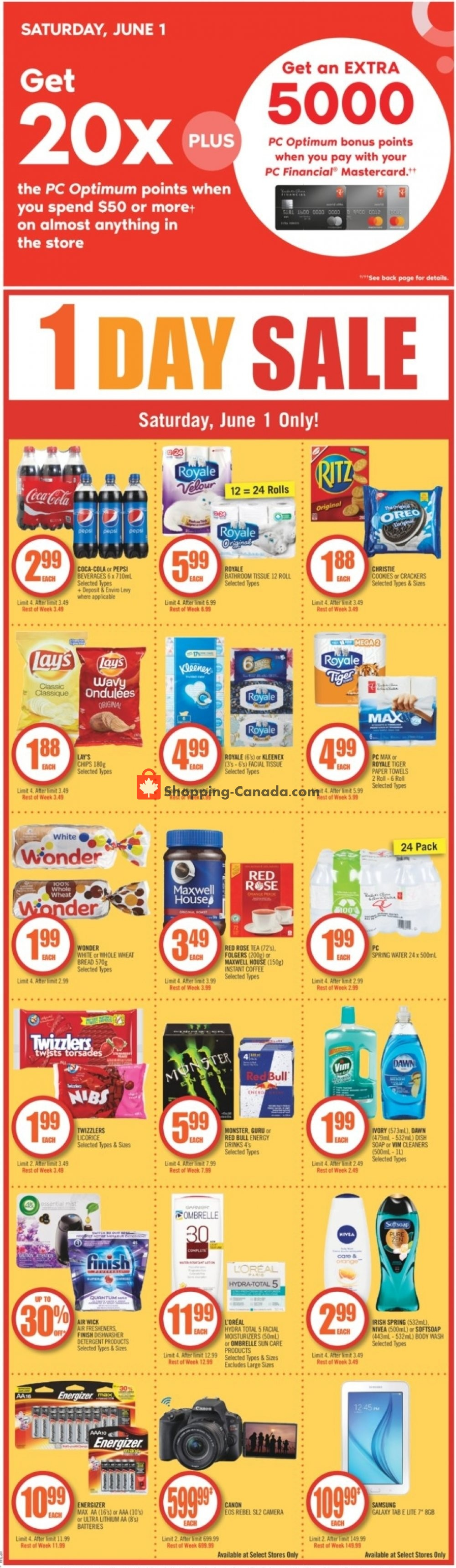 Flyer and weekly ads: Shoppers Drug Mart Canada - (Special