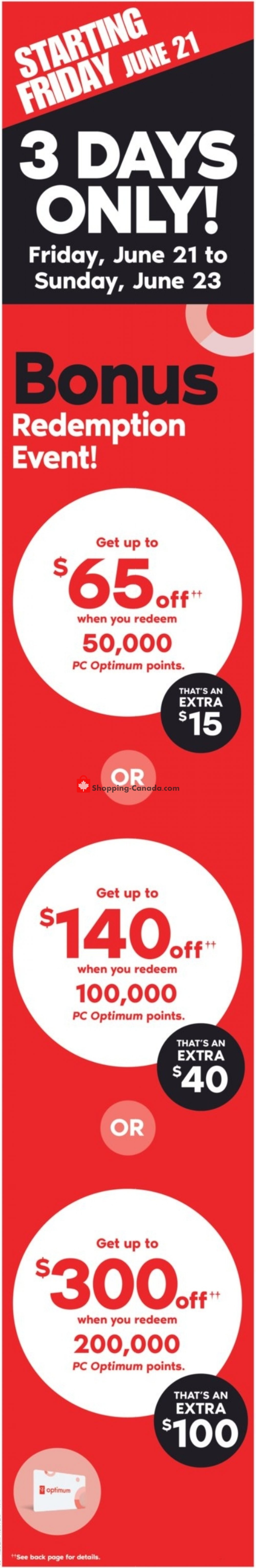 Flyer Shoppers Drug Mart Canada - from Saturday June 22, 2019 to Thursday June 27, 2019
