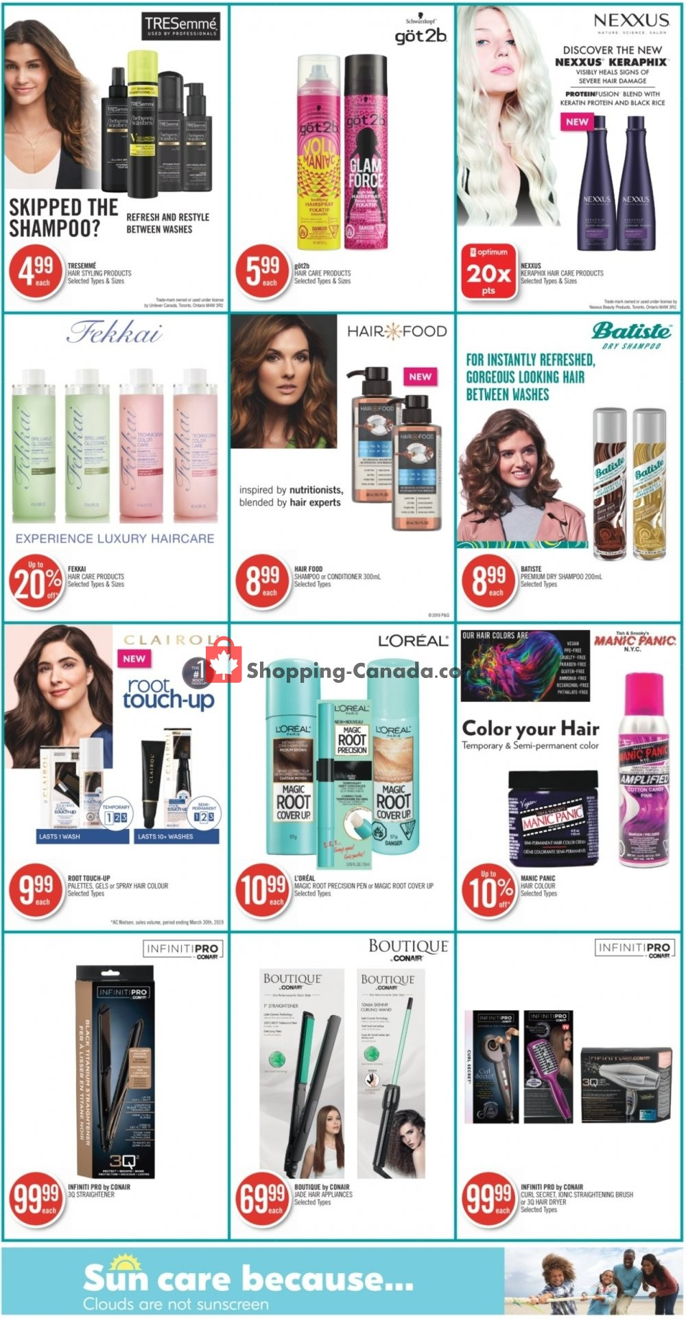 Flyer Shoppers Drug Mart Canada - from Saturday July 13, 2019 to Friday July 19, 2019