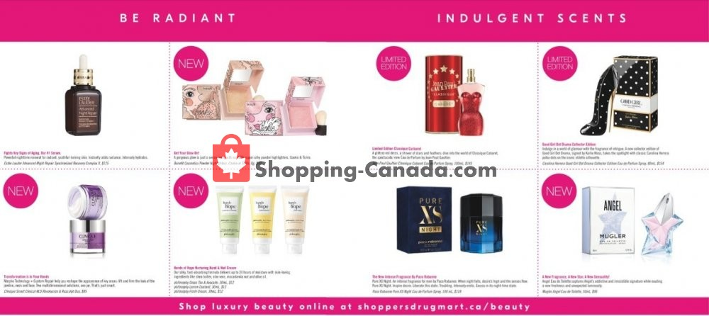 Flyer Shoppers Drug Mart Canada - from Saturday September 7, 2019 to Thursday September 12, 2019