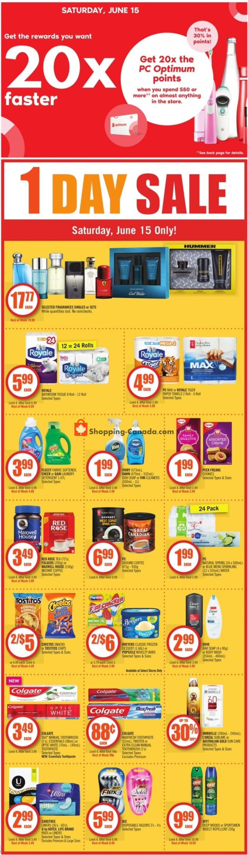 Flyer Shoppers Drug Mart Canada - from Saturday June 15, 2019 to Thursday June 20, 2019