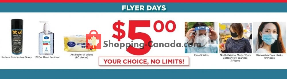 Flyer Showcase Canada - from Tuesday July 7, 2020 to Monday July 13, 2020