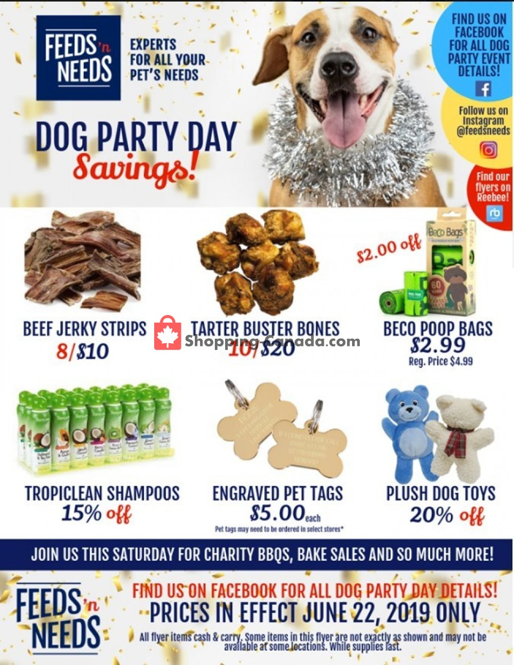 Flyer ShurGain Feeds'n Needs Canada - from Saturday June 22, 2019 to Saturday June 22, 2019