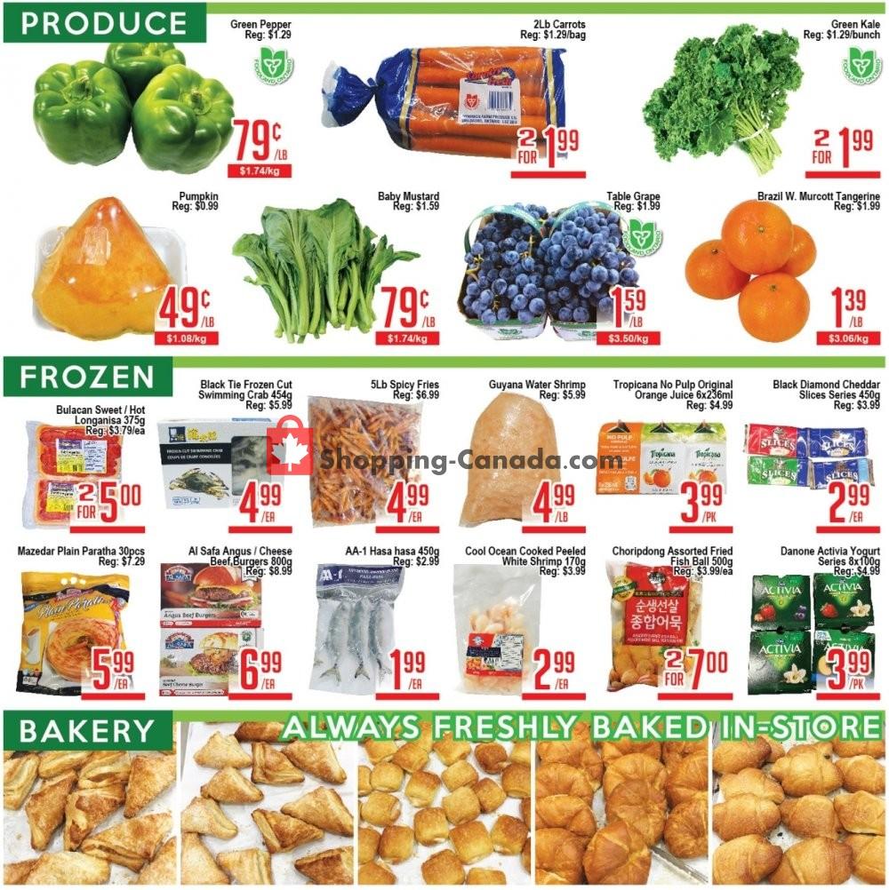 Flyer Skyland Food Mart Canada - from Friday September 6, 2019 to Thursday September 12, 2019
