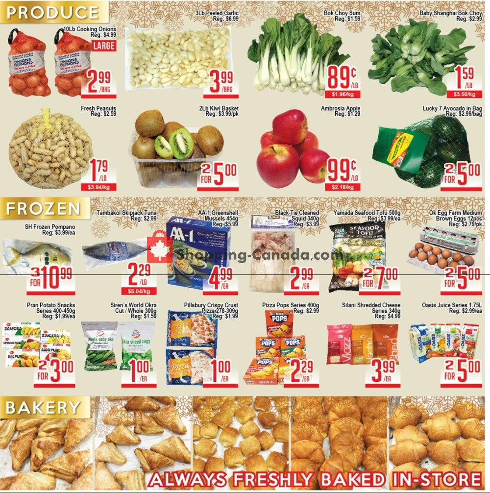Flyer Skyland Food Mart Canada - from Friday January 10, 2020 to Thursday January 16, 2020