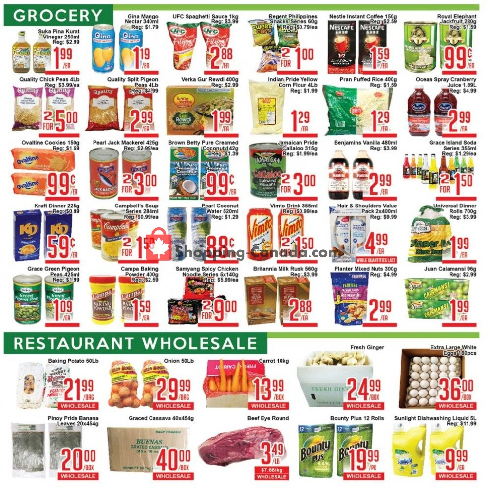 Flyer Skyland Food Mart Canada - from Friday July 12, 2019 to Thursday July 18, 2019