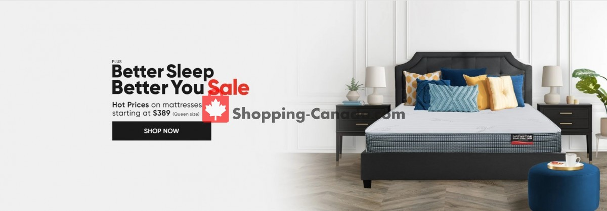 Flyer Sleep Country Canada - from Tuesday May 4, 2021 to Monday June 7, 2021