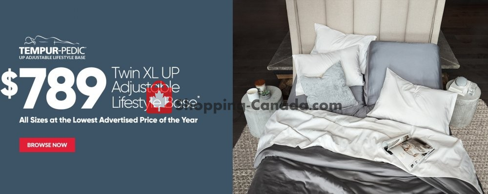 Flyer Sleep Country Canada - from Wednesday October 24, 2018 to Sunday November 11, 2018