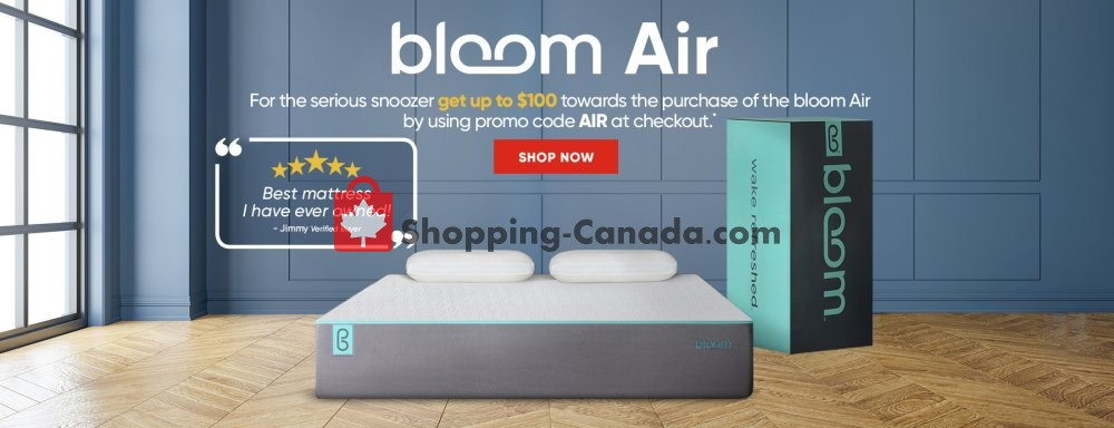 Flyer Sleep Country Canada - from Wednesday October 16, 2019 to Sunday November 24, 2019