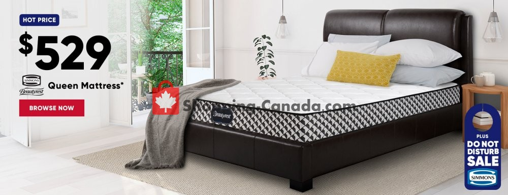 Flyer Sleep Country Canada - from Tuesday June 4, 2019 to Tuesday July 16, 2019