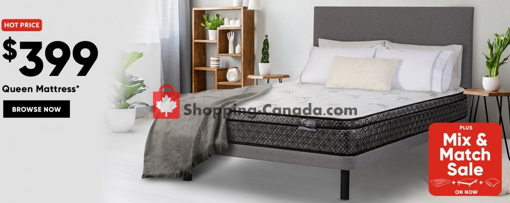 Flyer Sleep Country Canada - from Wednesday July 17, 2019 to Tuesday September 24, 2019