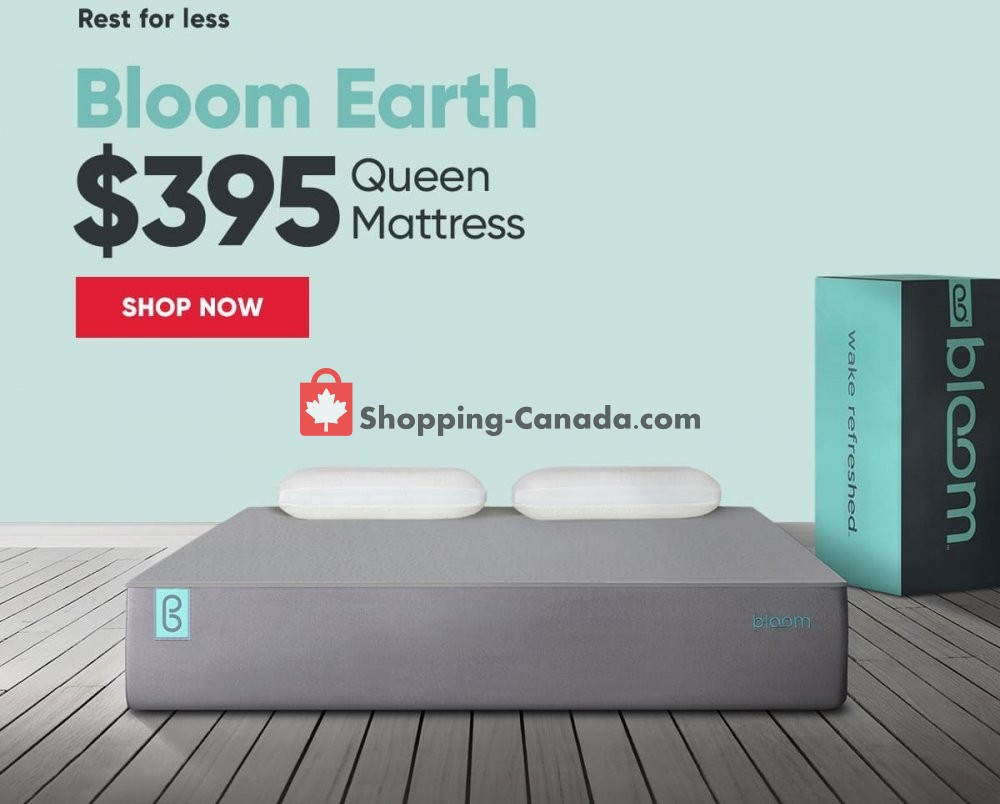 Flyer Sleep Country Canada - from Wednesday February 20, 2019 to Tuesday February 26, 2019