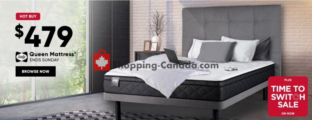 Flyer Sleep Country Canada - from Wednesday May 8, 2019 to Sunday May 12, 2019