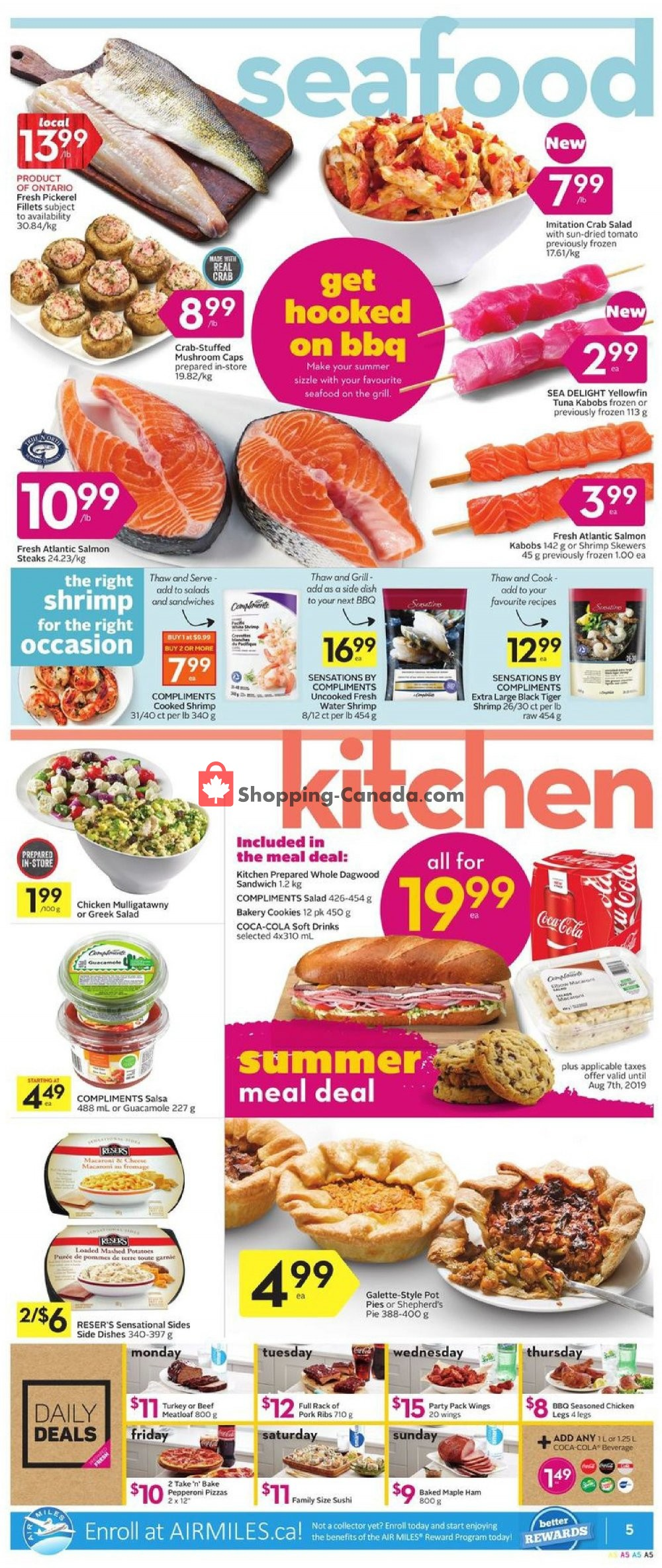 Flyer Sobeys Canada - from Thursday July 11, 2019 to Wednesday July 17, 2019
