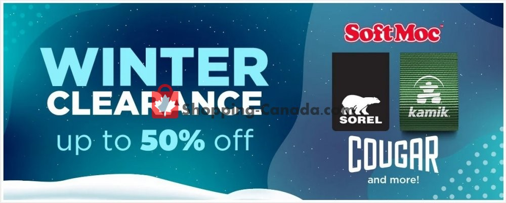 Flyer SoftMoc Canada - from Sunday February 2, 2020 to Saturday February 8, 2020