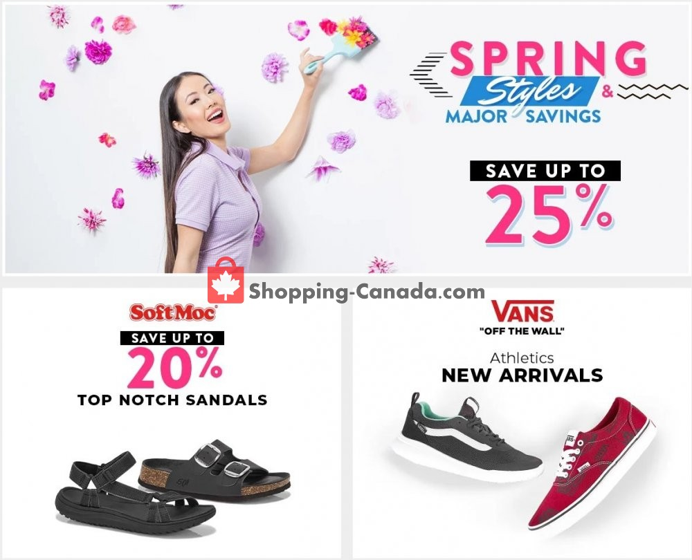 Flyer SoftMoc Canada - from Tuesday May 7, 2019 to Monday May 13, 2019