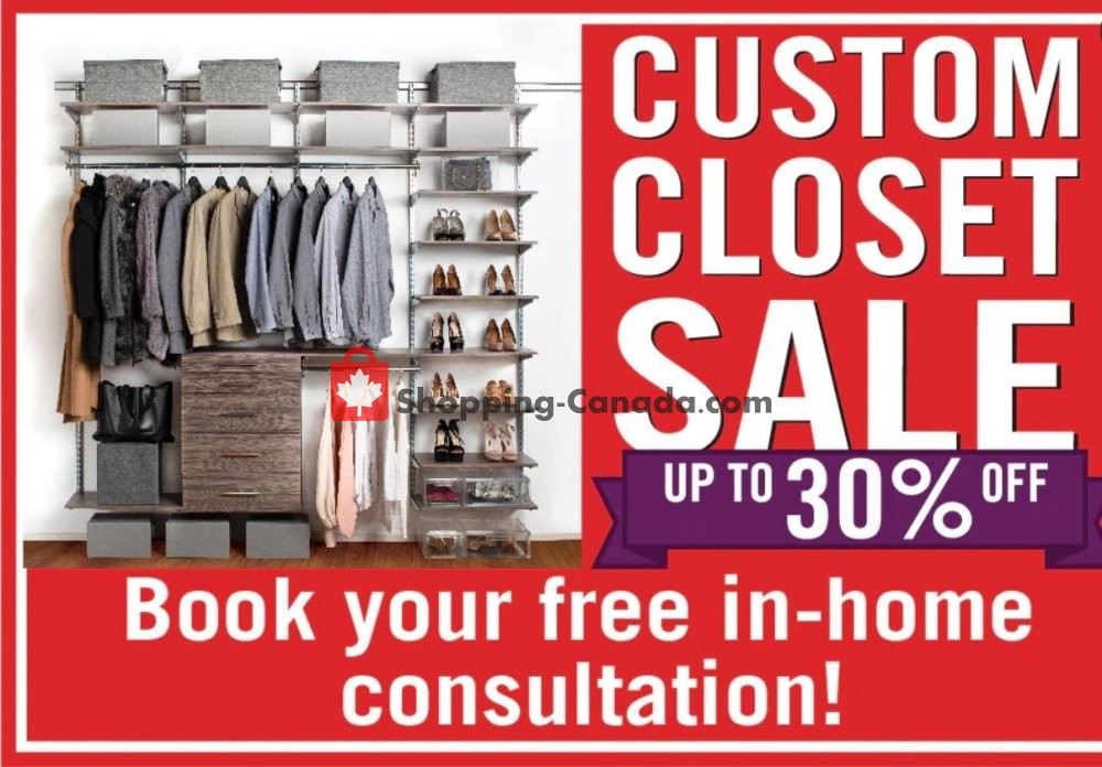 Flyer Solutions - Your Organized Living Store Canada - from Friday January 31, 2020 to Thursday February 6, 2020