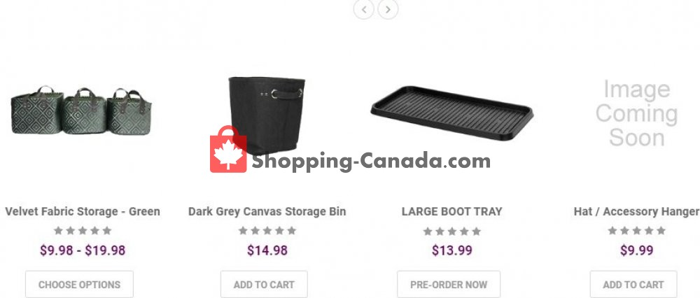 Flyer Solutions - Your Organized Living Store Canada - from Monday July 6, 2020 to Sunday July 12, 2020