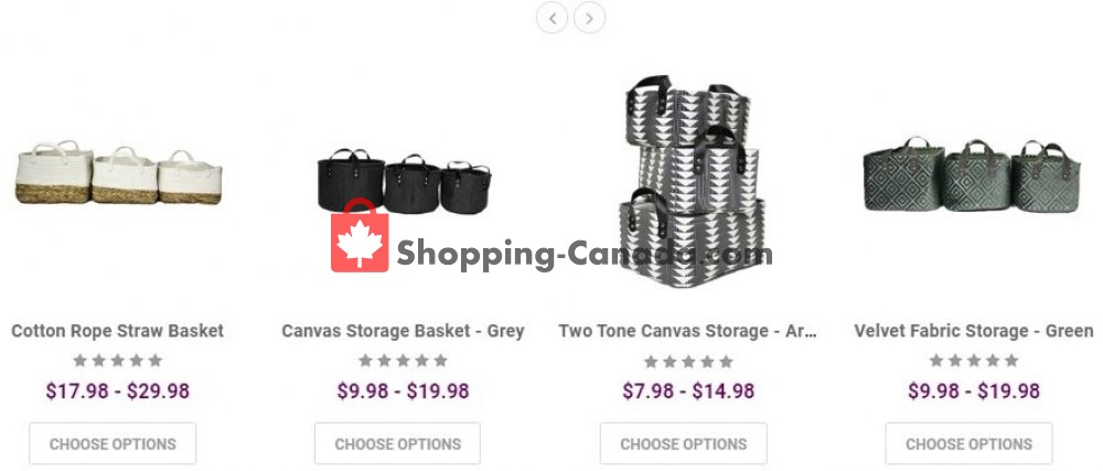 Flyer Solutions - Your Organized Living Store Canada - from Monday July 27, 2020 to Sunday August 2, 2020