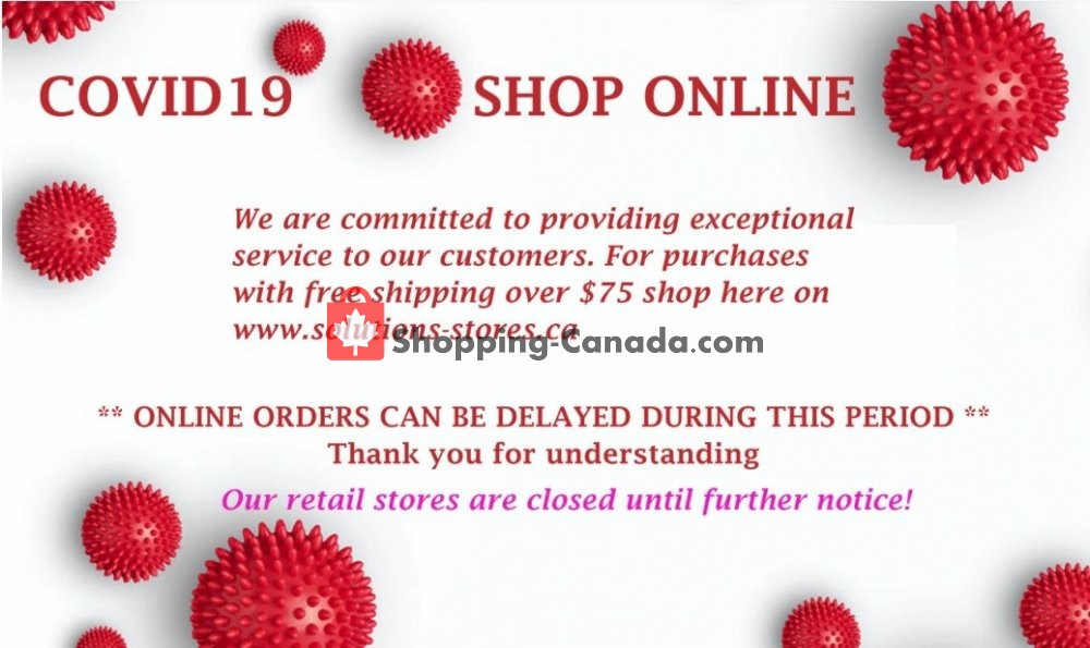 Flyer Solutions - Your Organized Living Store Canada - from Monday April 27, 2020 to Sunday June 7, 2020