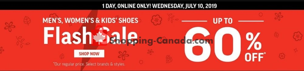 Flyer Sport Chek Canada - from Wednesday July 10, 2019 to Wednesday July 10, 2019