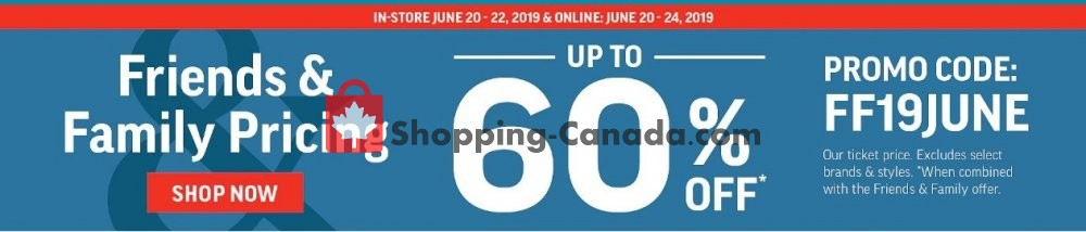 Flyer Sport Chek Canada - from Thursday June 20, 2019 to Tuesday June 25, 2019