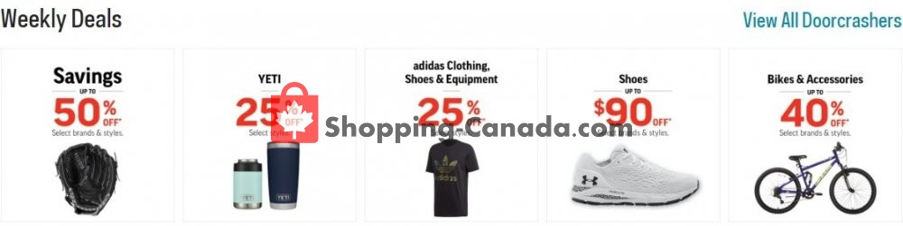 Flyer Sport Chek Canada - from Tuesday April 21, 2020 to Monday April 27, 2020
