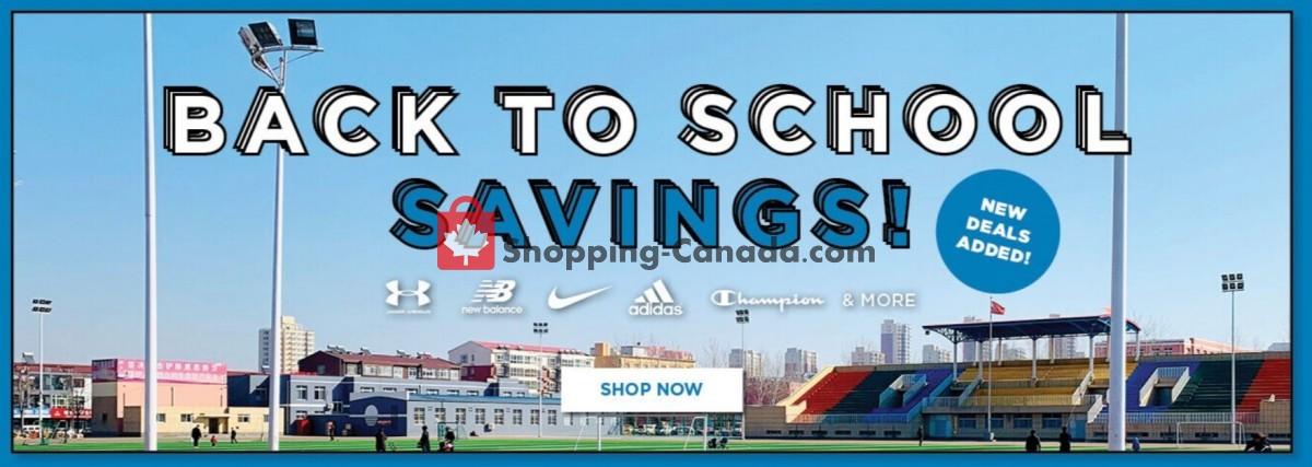 Flyer Sporting Life Canada - from Thursday September 9, 2021 to Wednesday September 15, 2021