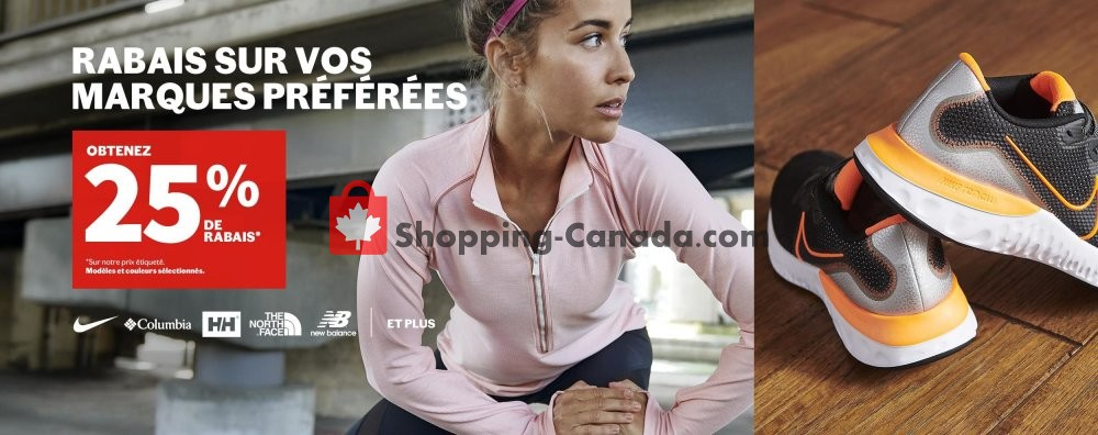 Flyer Sports Experts Canada - from Monday April 20, 2020 to Sunday April 26, 2020