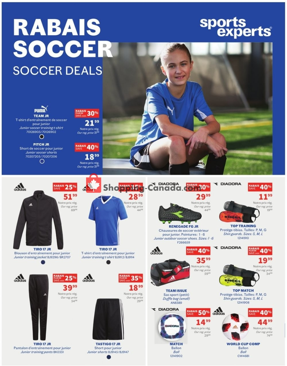 Flyer Sports Experts Canada - from Wednesday April 17, 2019 to Sunday May 5, 2019