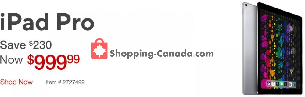 Flyer Staples Canada - from Tuesday April 16, 2019 to Monday April 22, 2019